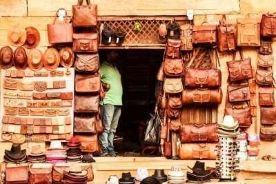 Sadar Bazaar Jaisalmer