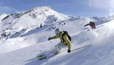 Go Skiing At Mt. Titlis