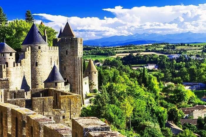 Honeymoon in Carcassonne, France