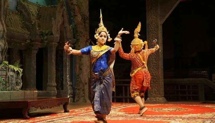 Apsara Dance performance