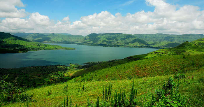 panchgani beautiful hills and lake