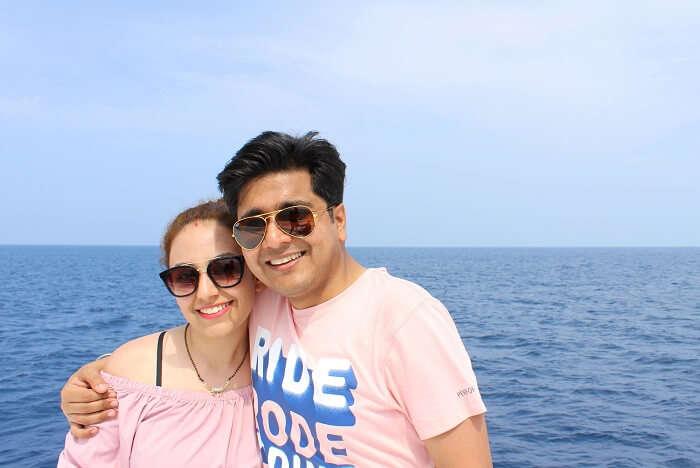 ankit wadhwa maldives honeymoon: trip starts
