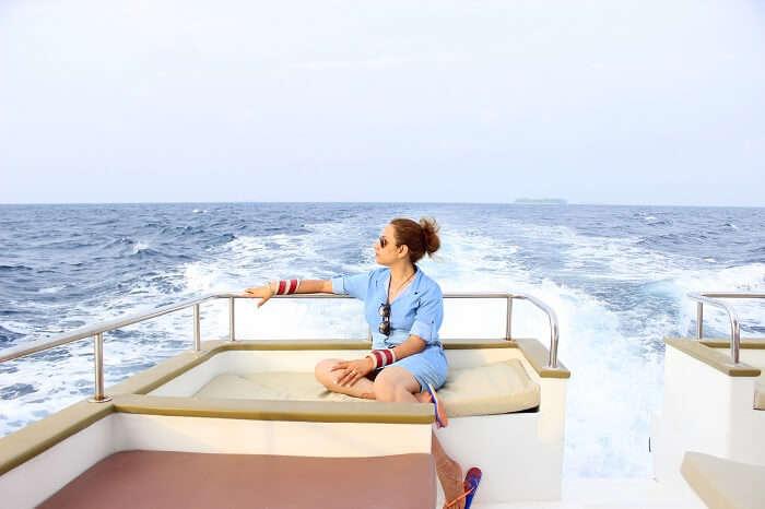 ankit wadhwa maldives honeymoon: priya dolphin cruise