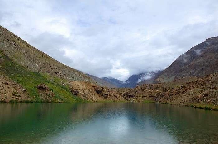 View Of Suraj Tal Lake
