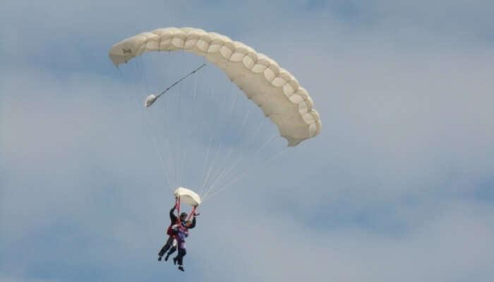 Parachute in Texel