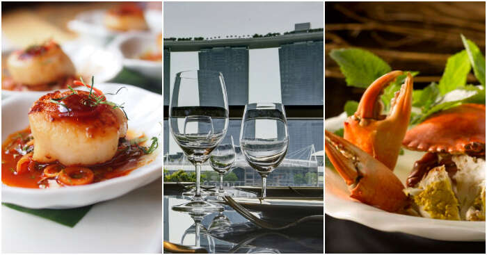 fine dining in singapore