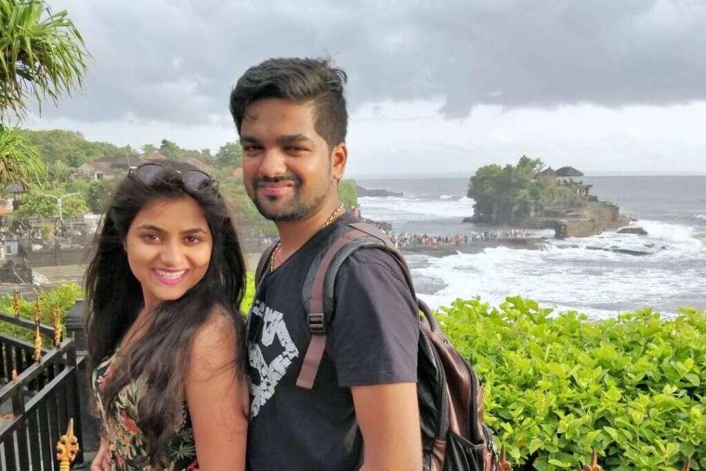 tushar honeymoon trip to Bali: tushar bali trip cover