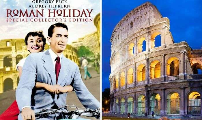 Rome In The Roman Holiday