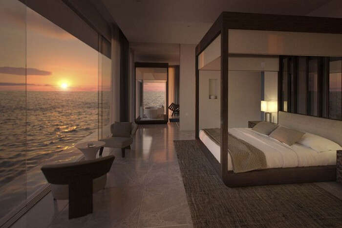 first underwater suite in the world