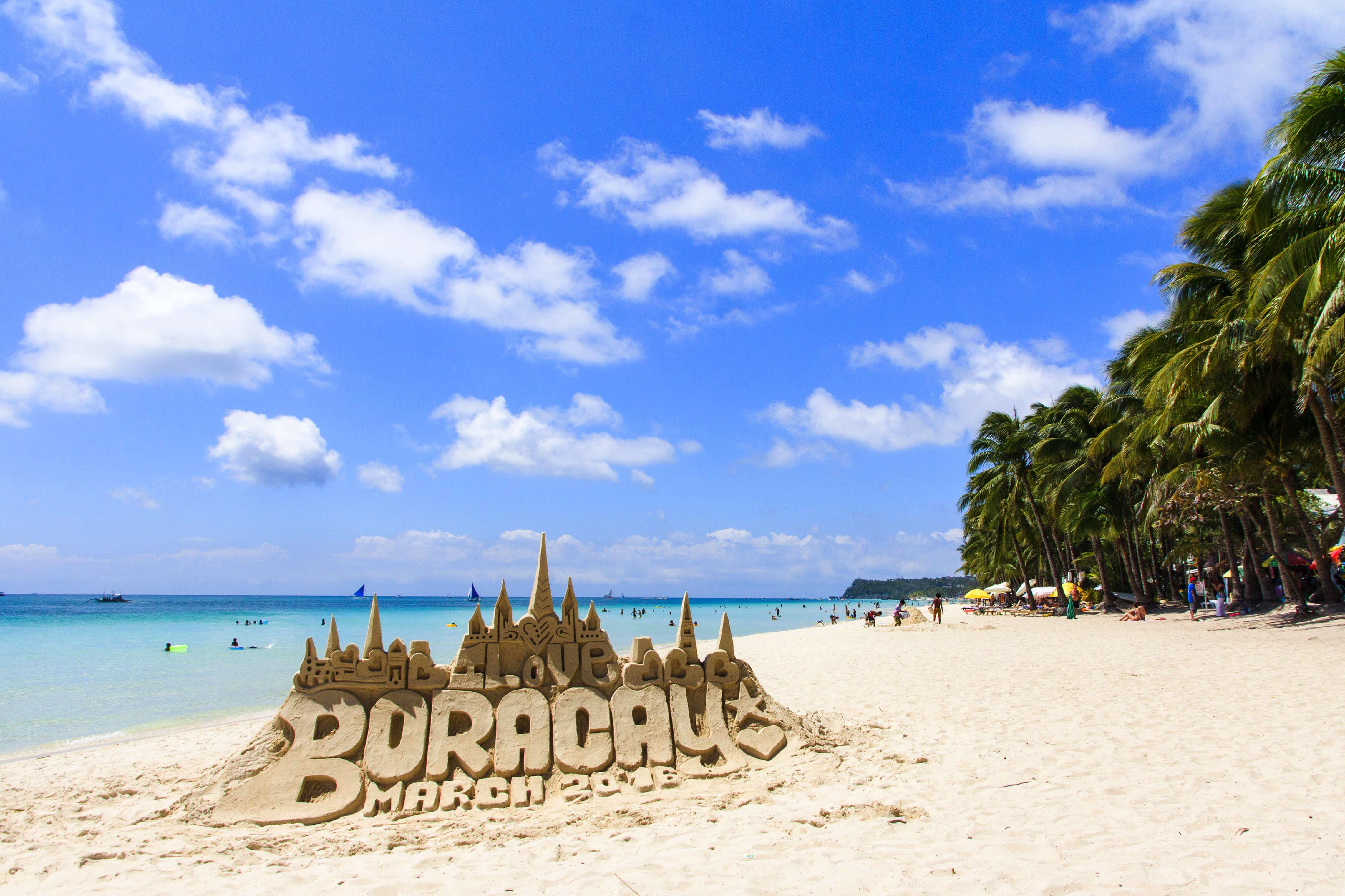 Boracay beach philippines