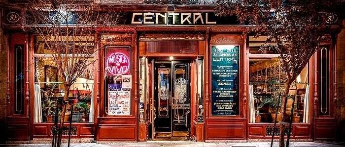 Cafe Central Madrid spain nightlife