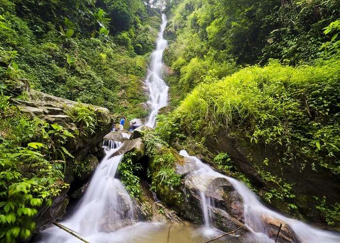 Frolic in the waters of Kanchenjunga Waterfalls