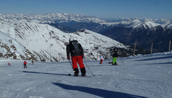 Go skiing in Southern Salzburg