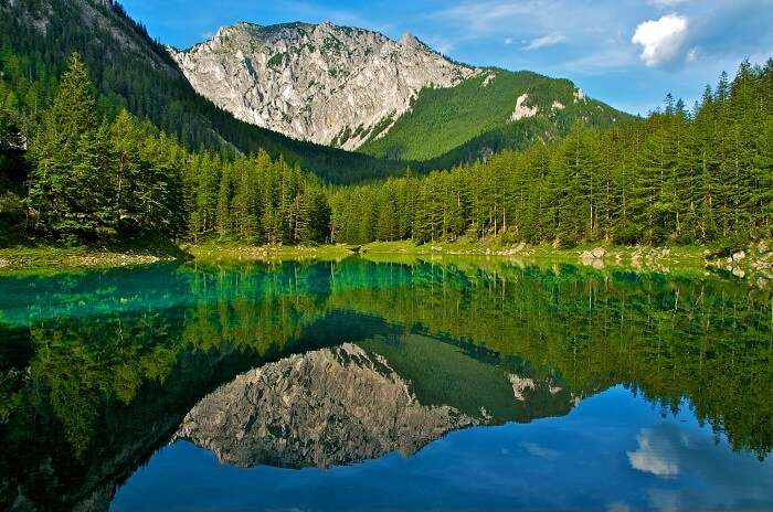 Gruner See lake austria