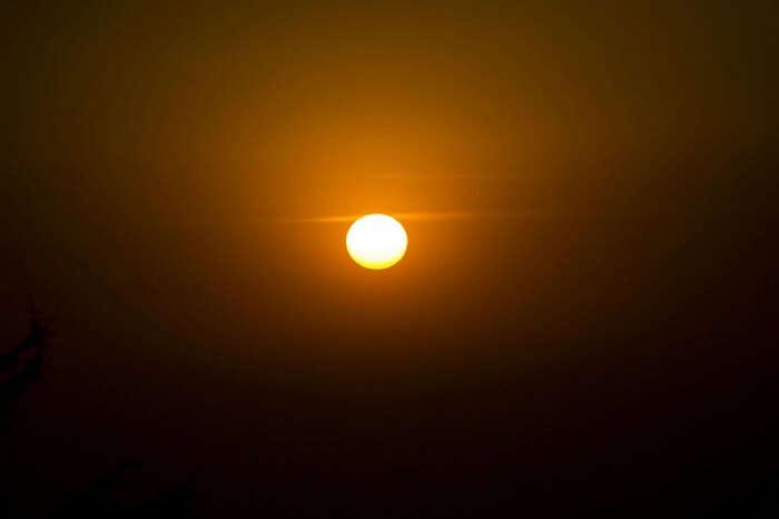 khajjiar sunset