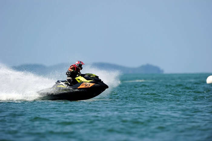 Jet skiing at Langkawi