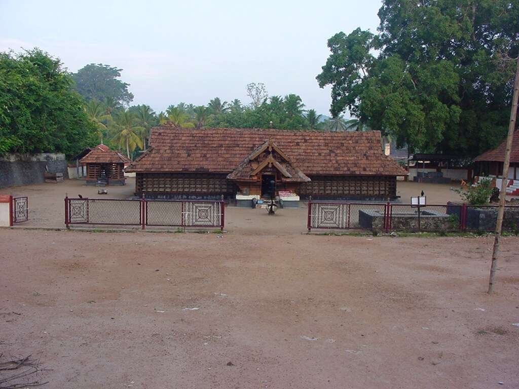 a n old style Kerala home