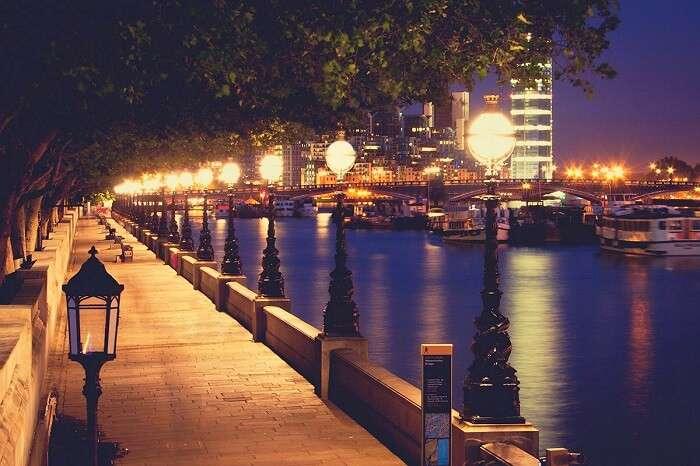 Night Walks in London