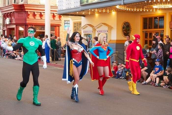 Warner Bros Movie World justice league gold coast
