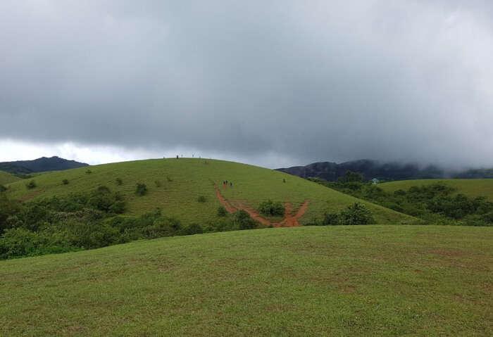 sightseeing of barren hill