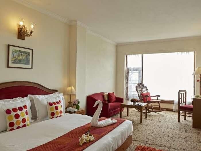 Club Mahindra bedroom