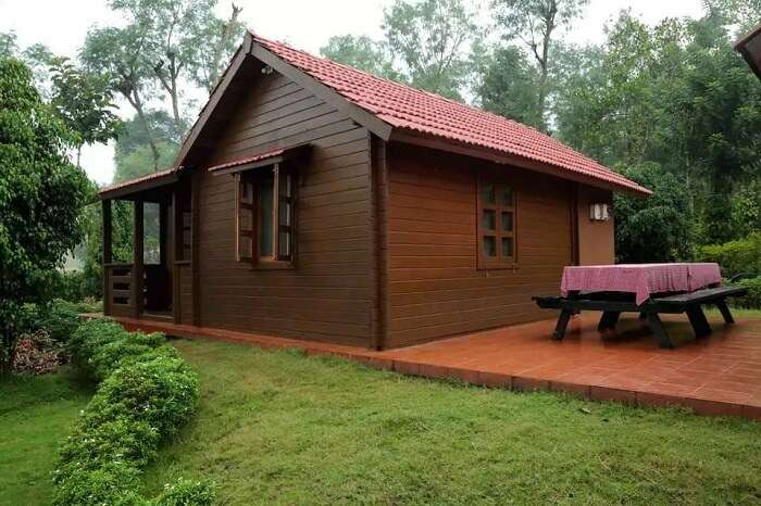 comfort and rustic type of cottage