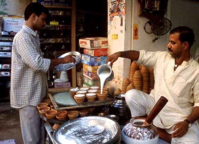 kulhar wala milk