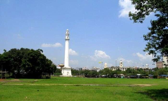 view of shaheed minar