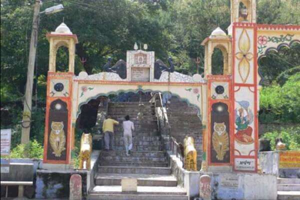 temple at the hilltop