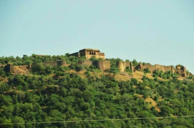 panoramic view of the fort