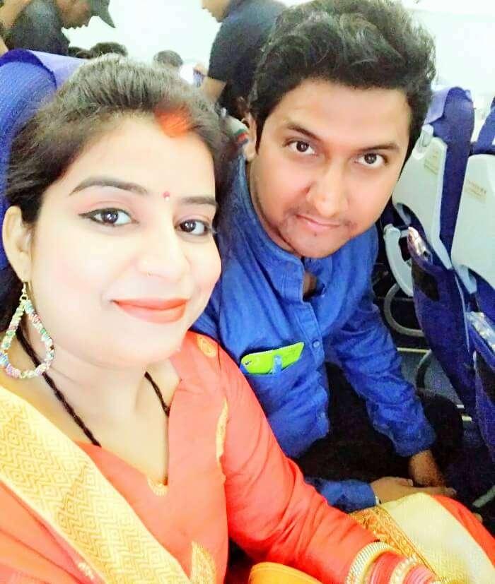 Couple on Kerala honeymoon