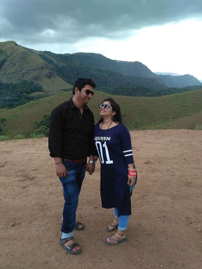 Couple in Thekkady