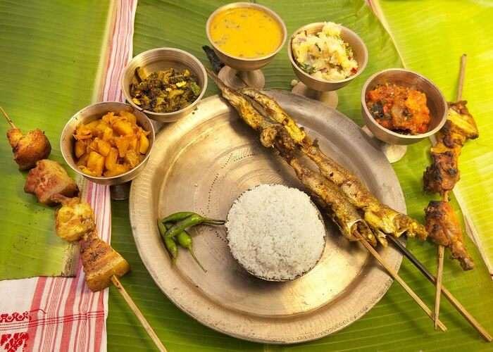 Assamese Food
