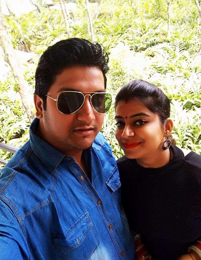 Couple travel Kerala