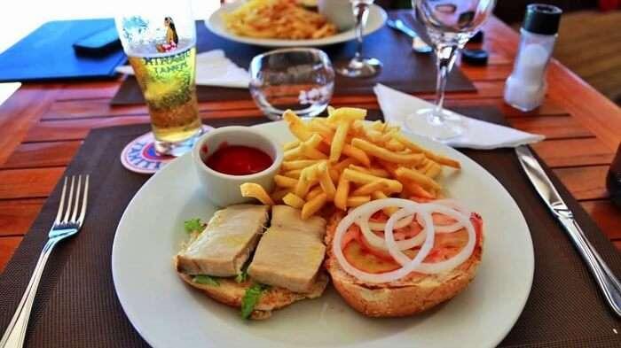 Matira Beach Restaurant Bora Bora
