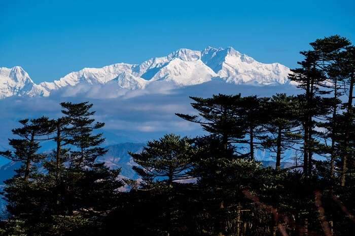 Mount Kanchenjunga, weather