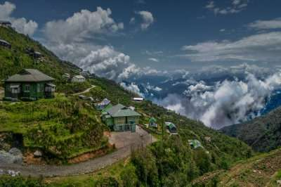 Gangtok in July cover