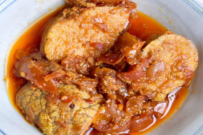 Burmese Fish Curry