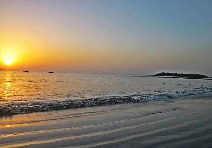 Sea shore of Diu