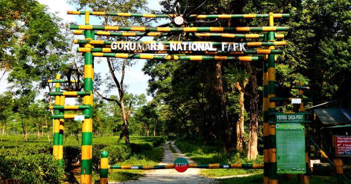 Gorumara National Park entrance