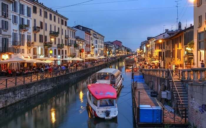 Go boating in Milan's Canals in the lively Navigli ss14052018