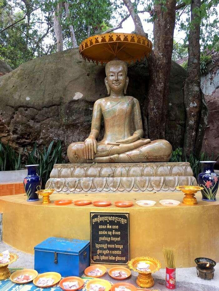 clicked a snapshot of buddha
