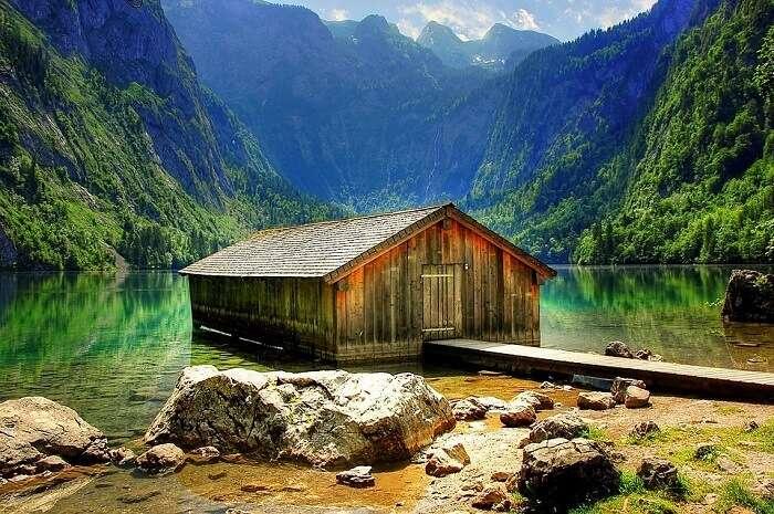 Kings Lake aka Königssee germany