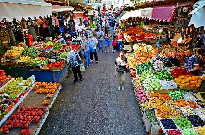 Shop in a 'Shuk in israel