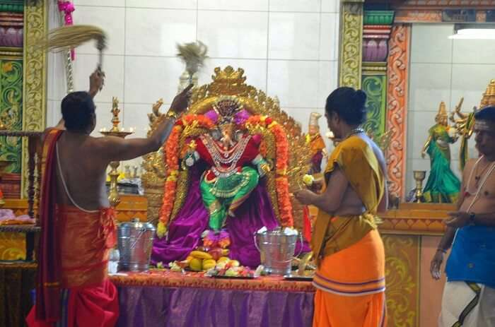 visit Sri Vakratunda Vinayaka Temple in melbourne