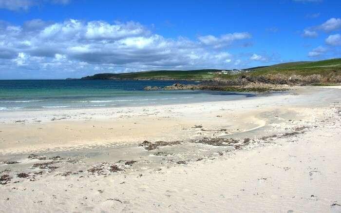 Shores of Ninian's Beach