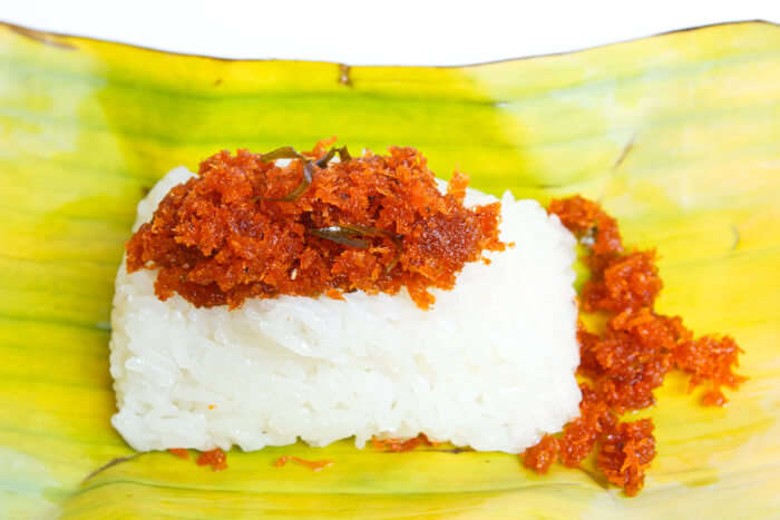Sticky Rice With Shredded Coconut