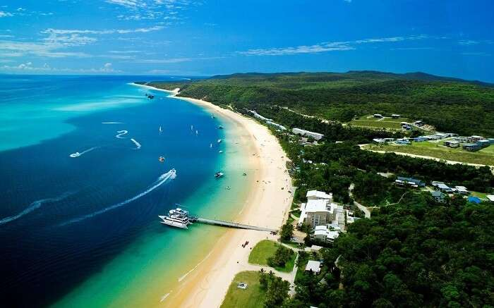 a gorgeous view of Tangalooma Island Resort ss01052017