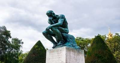 The Thinker Statue in Paris