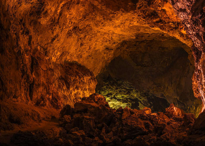 caving or spelunking